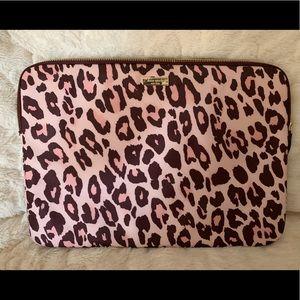 Kate Spade | Laptop sleeve | Pink leopard | NWOT